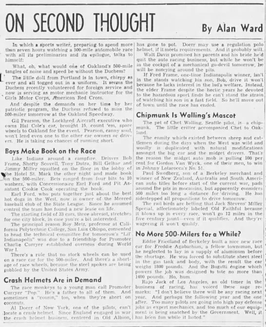 Quoted Aug  31, 1941 - Newspapers com