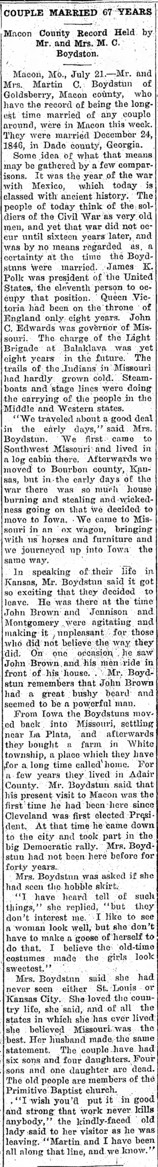 Moberly Weekly Monitor