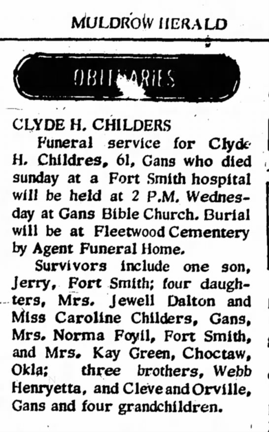 Clyde Childers -
