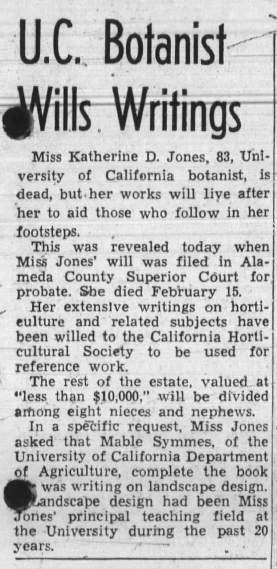 Katherine Davies Jones (1860-1943) -