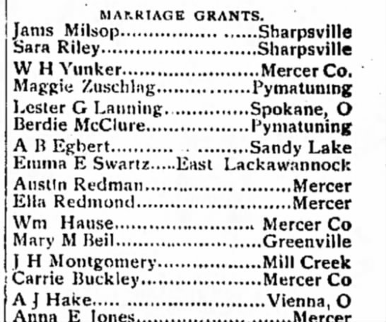 Austin Ella Marriage Grants 1893 Newspapers Com