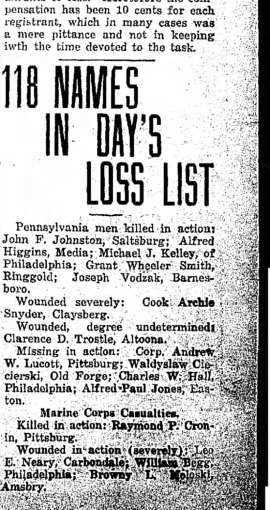 Record-Argus (Greenville, PA) 20 Aug 1918 -