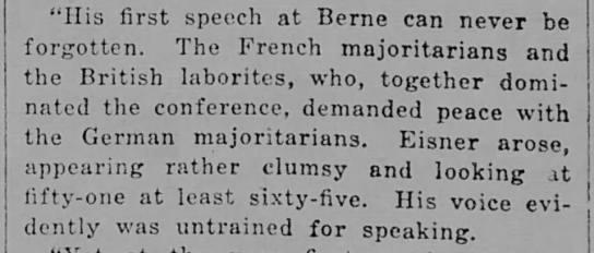 Majoritarian (1919). -