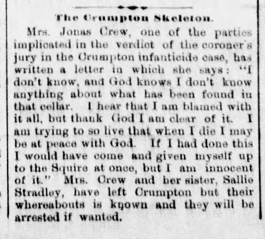 the crumpton skeleton -