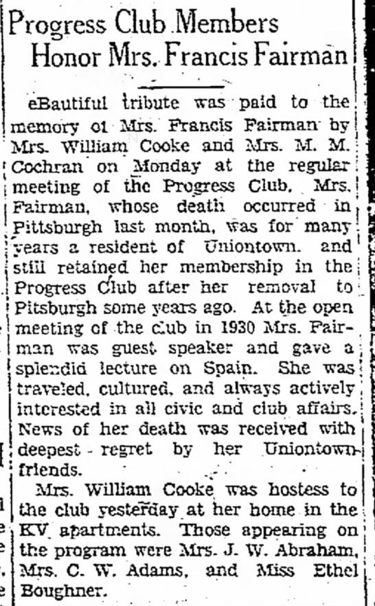 Evening Standard (Uniontown) March 3, 1931 -
