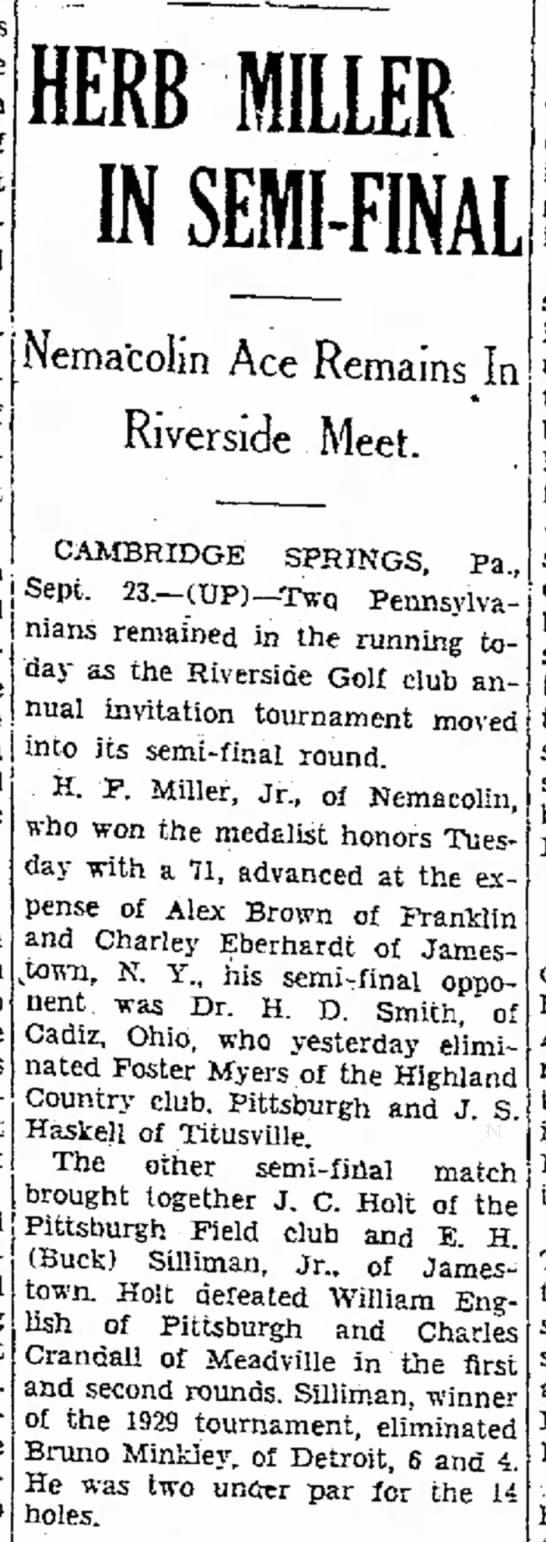 Evening Standard 24 Sep, 1936: Uncle Buck -