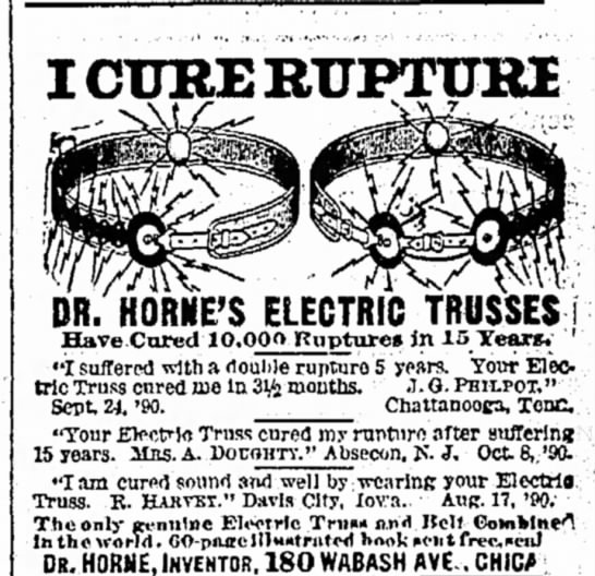 Electric Collar for rupture-1891 -