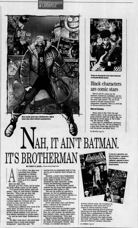 Black Comics in the 1990s -