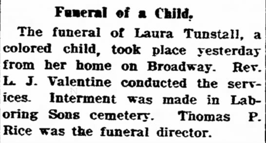 Laura Turnstall-Frederick Post Wednesday 12 Apr 1911 -