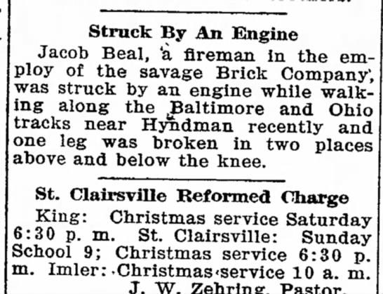 The Bedford Gazette (Bedford, Pennsylvania)23 December 1910Page 5  -