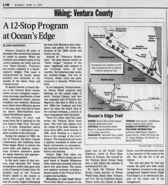 A 12-Stop Program at Ocean's Edge -