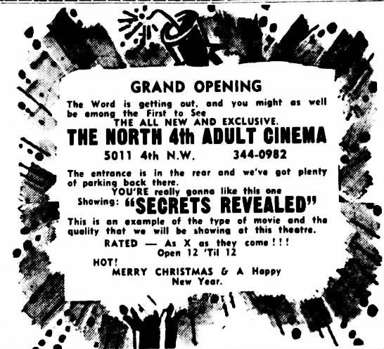 North 4th Adult Cinema opening -
