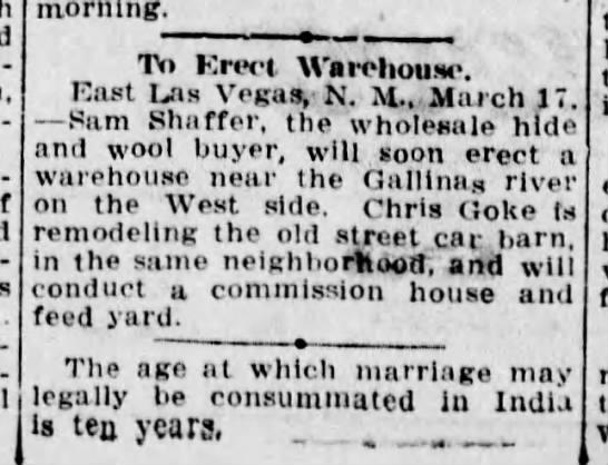 Chris Goke -- business (1920) - Newspapers com