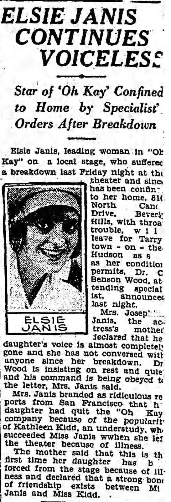 Los Angeles Times, October 11, 1927, p.34 -