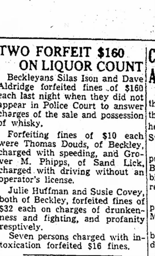Silas Ison Liquor 