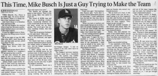 Mike Busch - March 1996 -