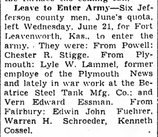 Beatrice Daily Sun June 25, 1944 page 7 -