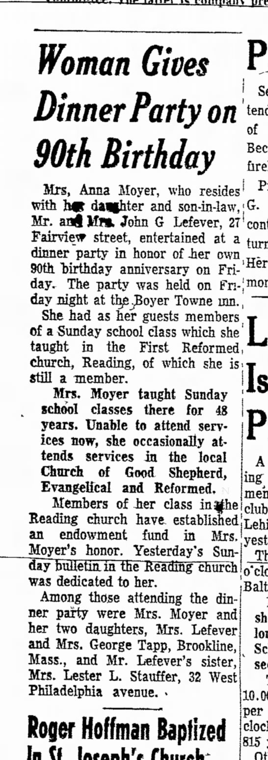 Pottstown Mercury, Pottstown, PA, 5 May 1952, page 8 -