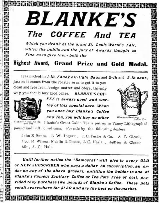 Blanke Tea -