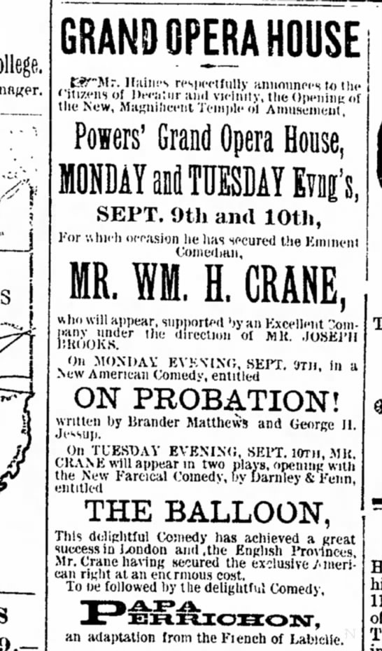 Decatur Daily Republican, 9/2/1889 -