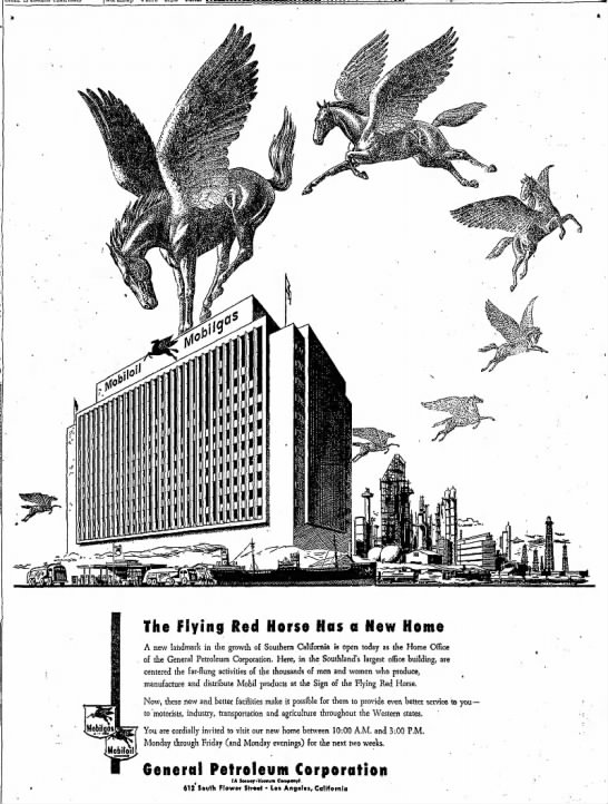 General Petroleum Corporation advertisement -