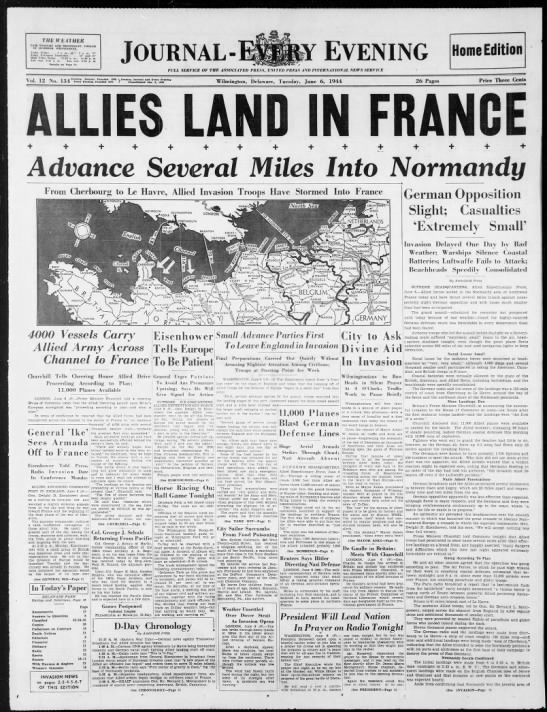 Allies Land In France -