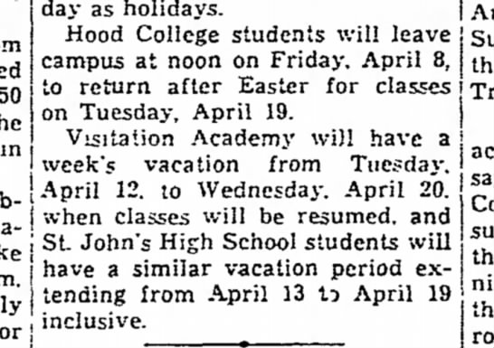 The Frederick News March 23, 1938 -