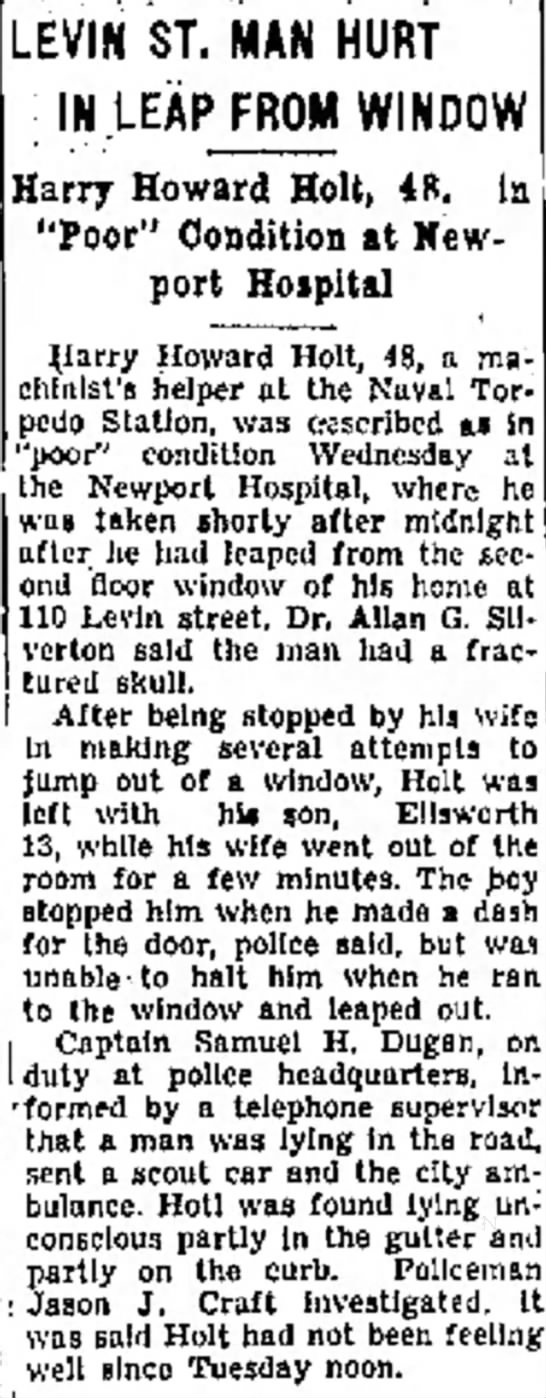 Harry Howard Holt