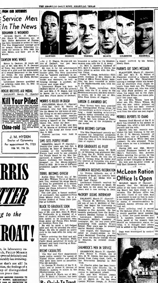 28 Mar 1944 Amarillo Daily News -