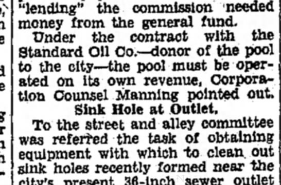 "F Manning - ""lending"" the commission 'needed money from the..."