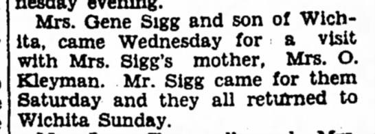 Eugene Sigg & Mary Barbara Kleyman -