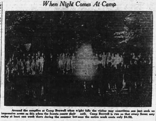 1933_0625__When Night Comes At Camp_pg31--photo -