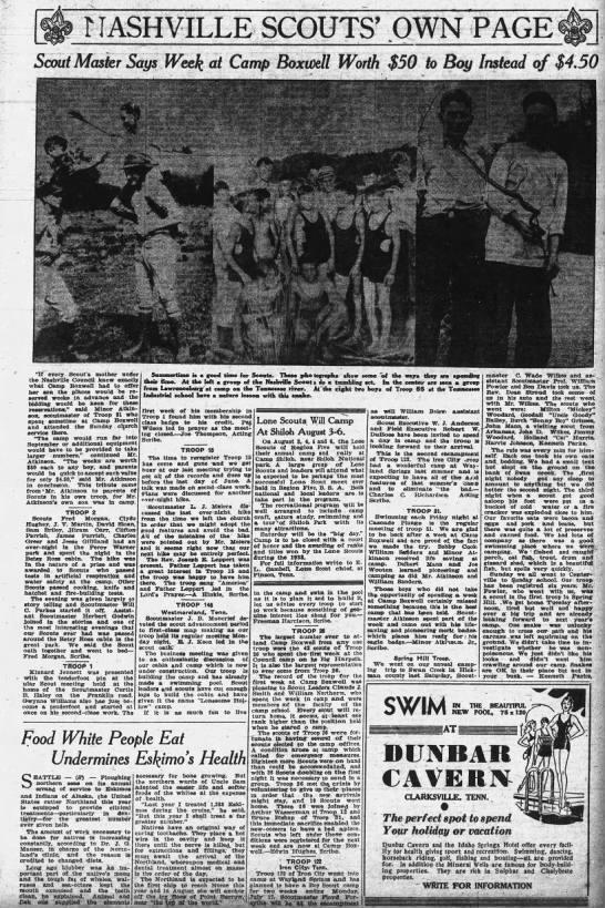 1933_0709__Scout Master Says Week at Camp Boxwell Worth 50 Dollars_pg33--photo -