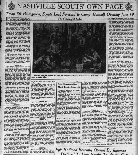 1933_0611__Scouts Look Forward to Camp Boxwell Opening June 19_pg47 -
