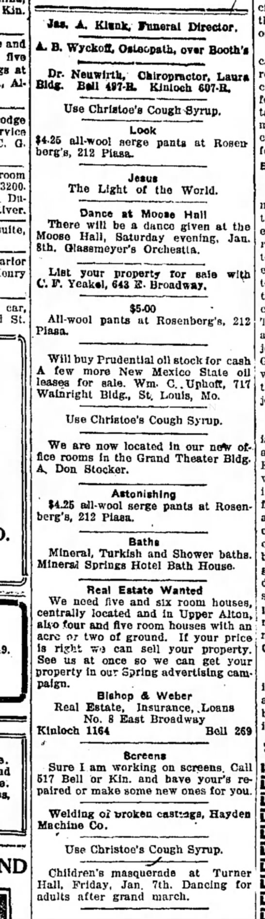 Use Christoe's Cough Syrup