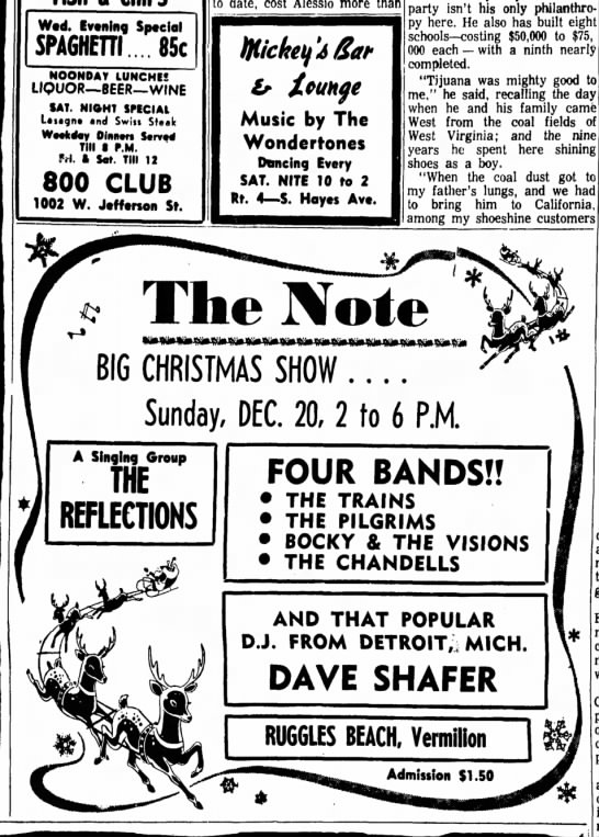 Sandusky Register December 18 1964 -