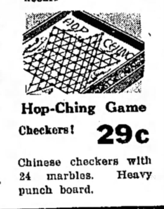 - Hop-Ching Game Checkers! O Q f> Chinese...