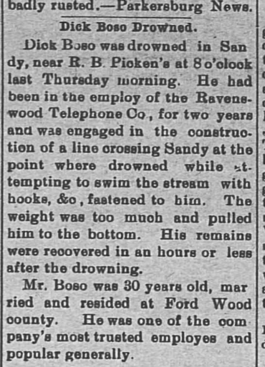 Weekly Register - Point Pleasant, WV 28 June 1905