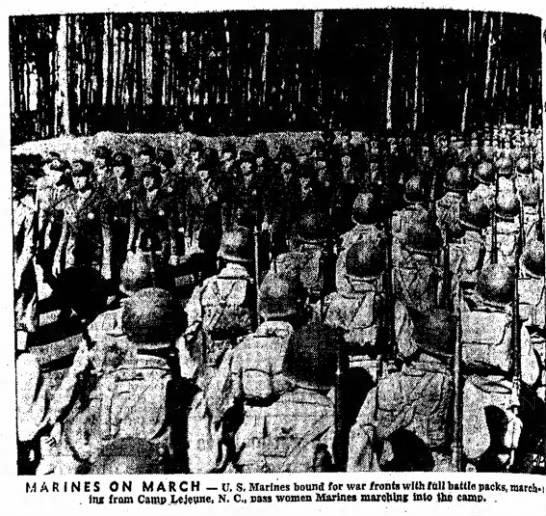 Marine March -