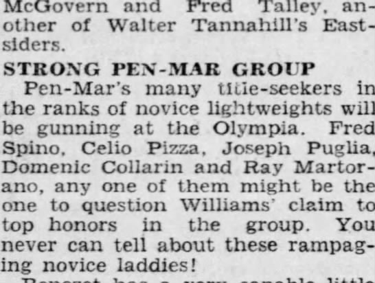 UNCLE DOMINIC?  1/1/1944 BOXING -