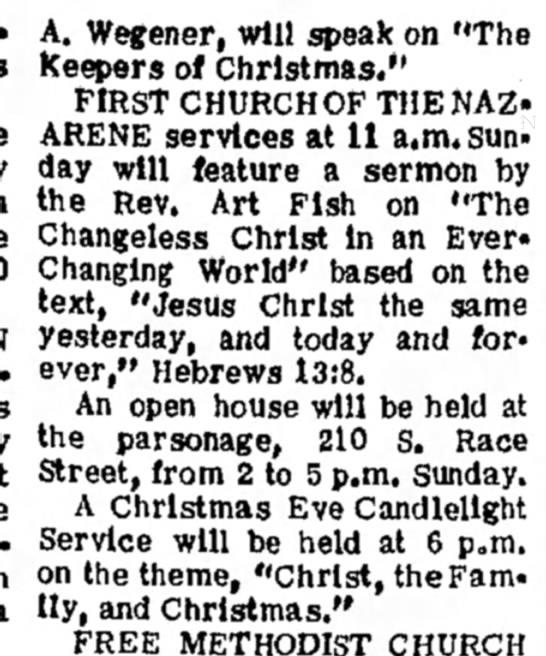 Christmas services 22-dec 1967 -