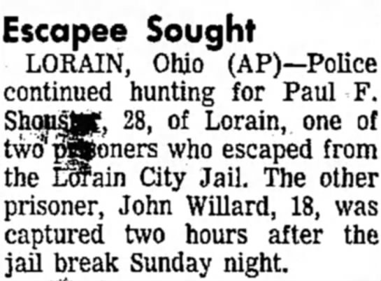 Cousin Johnny Willard - Newspapers com