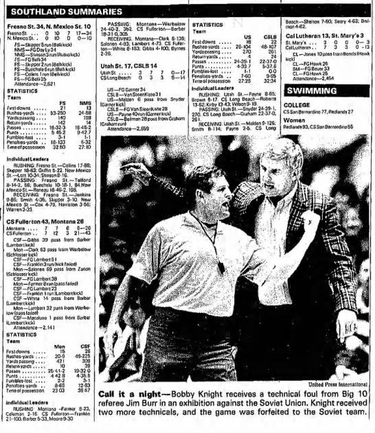 Southland Summaries 19871122 -