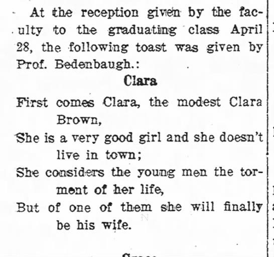 clarabrown -