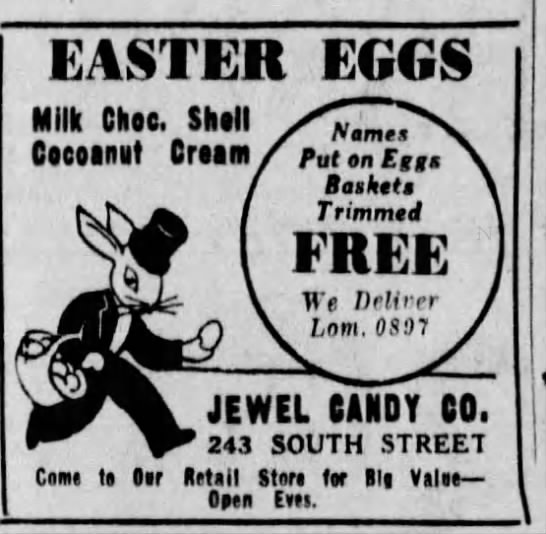 Jewel Candy Co. Ad -