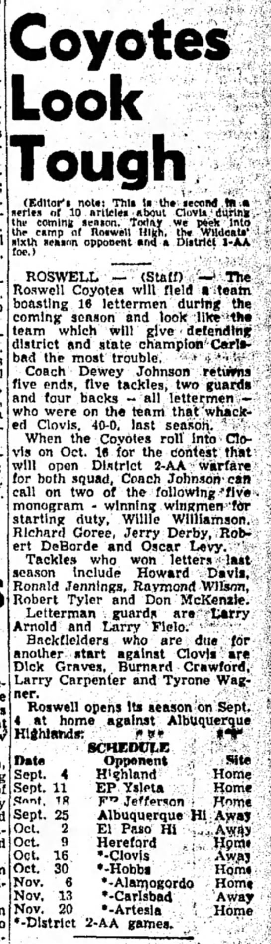 Clovis News-Journal 08/26/1959 -