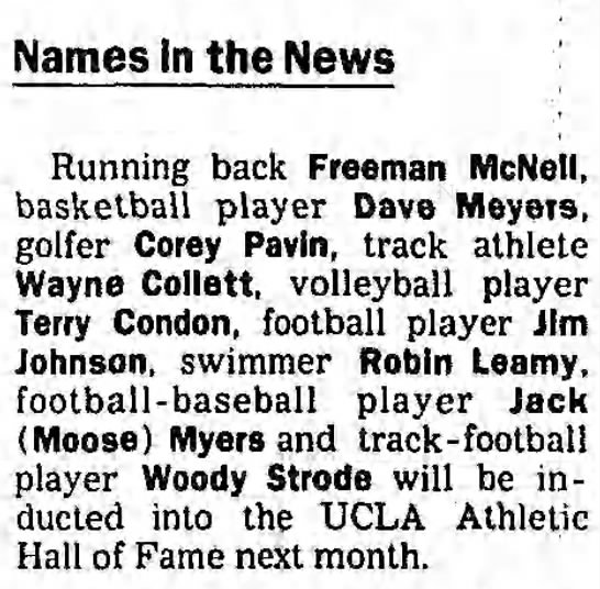 Names In the News -