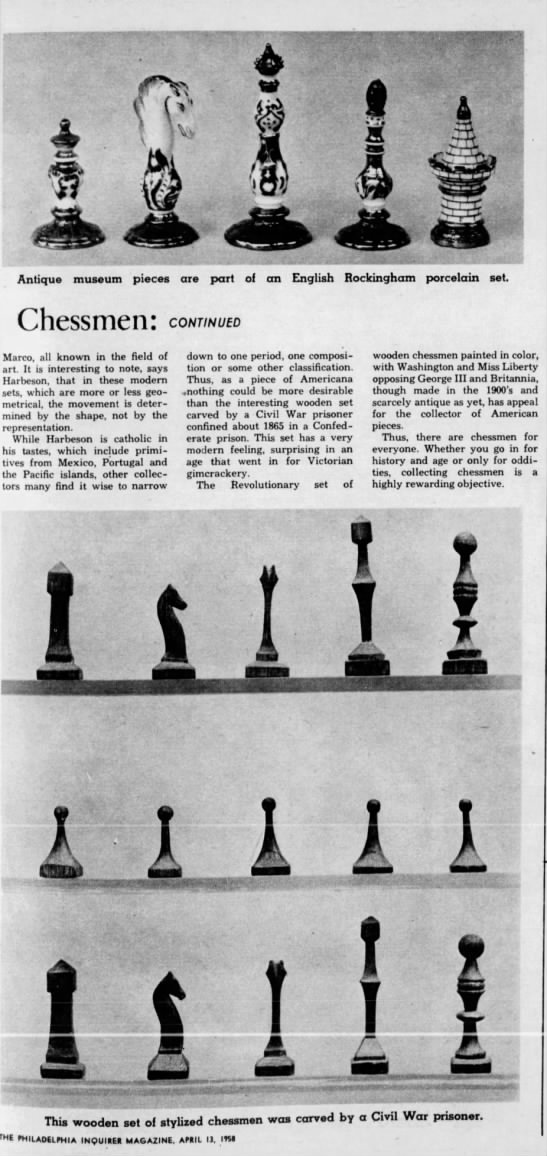 Chessmen (Continued) -