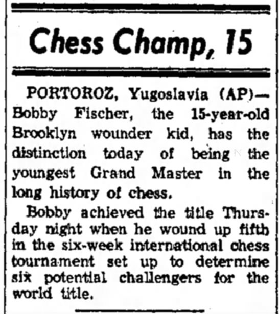 Chess Champ, 15 -