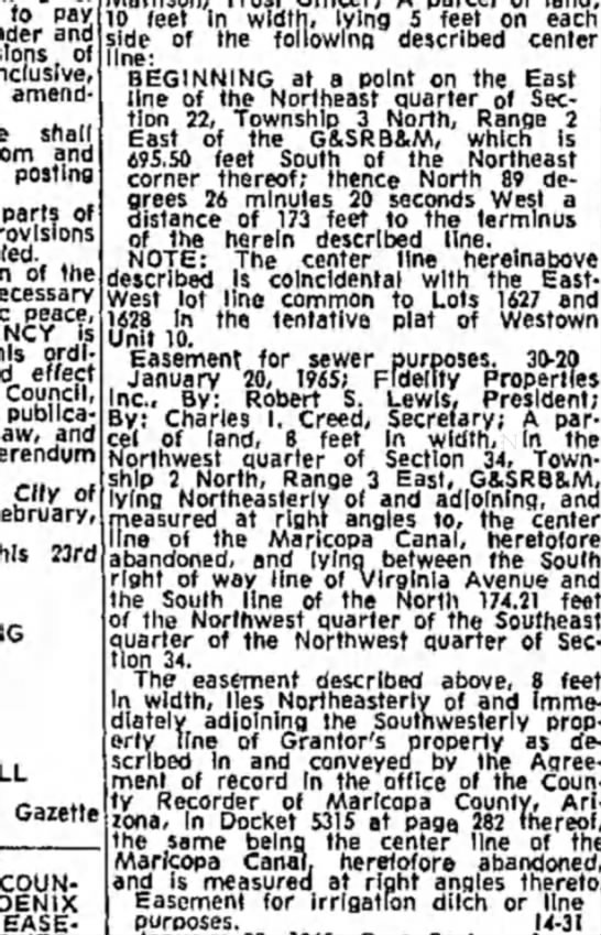 Phoenix Gazette 9 March 1965 -